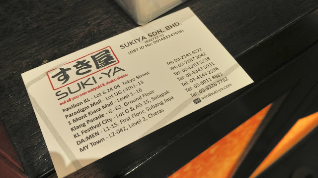 Eat All You Can Sukiya & Shabu shabu @ Da Men Mall