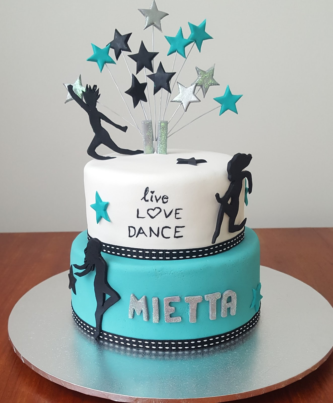 Birthday Cake Music And Dancing