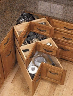 lazy susan corner cabinet