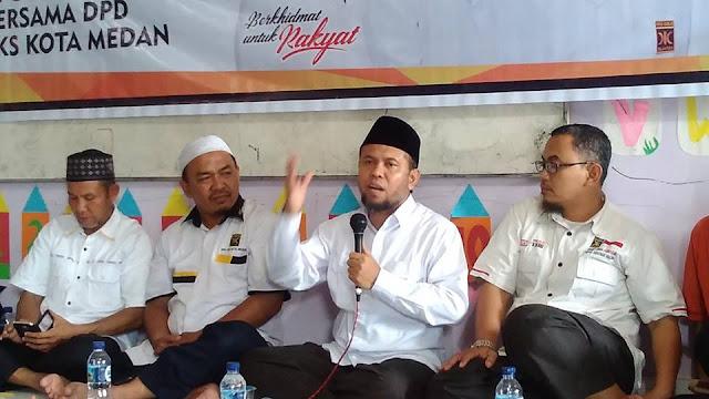 Perkuat Struktur dan Kader, PKS Kota Medan Gelar Safari Dakwah
