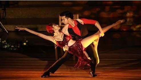 menari dan berdangsa