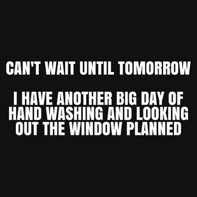 Can not wait till tomorrow