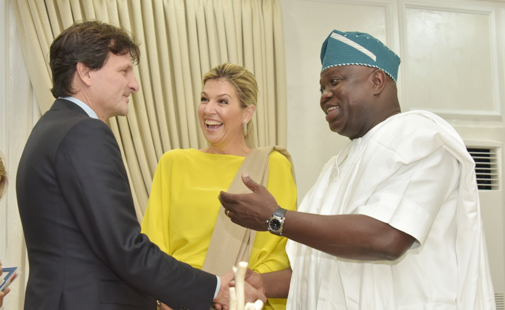 Photos & Full Details From The Visit Of Queen Of Netherlands To Governor Ambode1