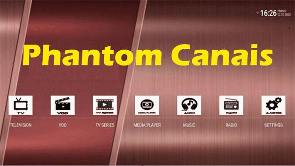 تحميل Phantom Canais النسخة الجديدة لمشاهدة أقوى القنوات العالمية مجانا