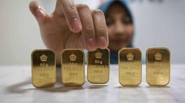 Harga Emas Antam Hari Ini, Sabtu 26 September 2020