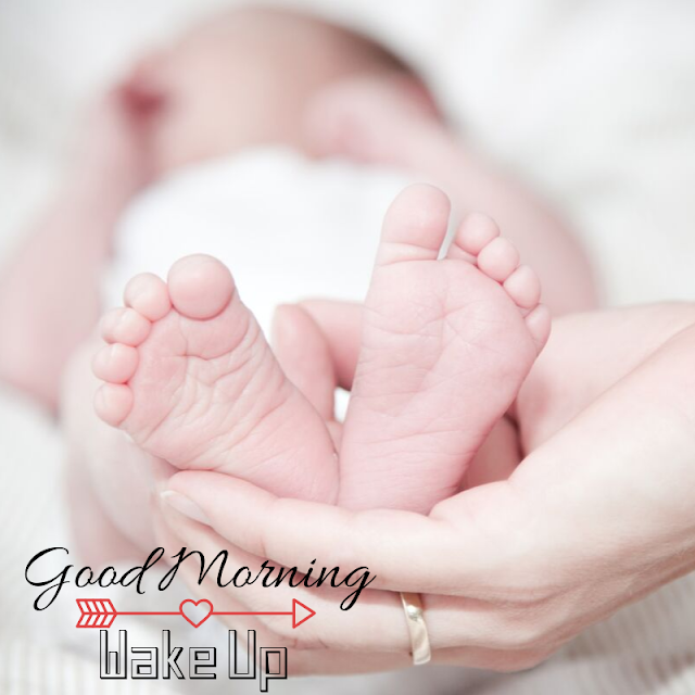 Nice Baby Leg Good Morning Images