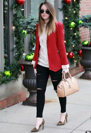 Pretty Red blazers for Girls Try It