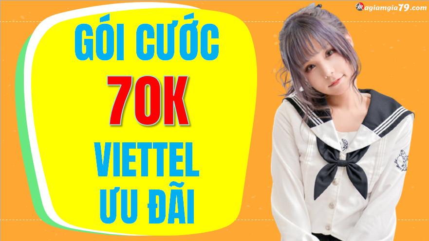 Đăng ký mạng 4G Viettel 70k 1 tháng