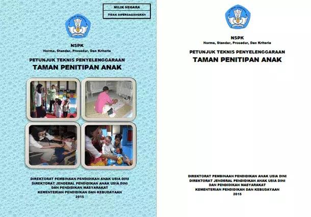 Juknis Penyelenggaraan Taman Penitipan Anak (TPA)