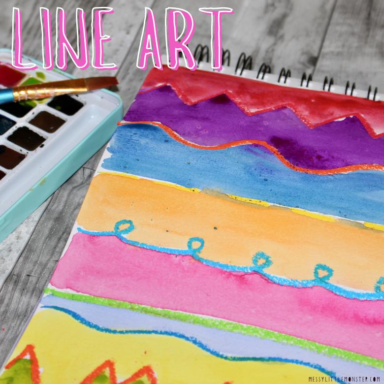 line art for kids