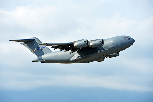 Heavy Airlift Wing anniversary Papa