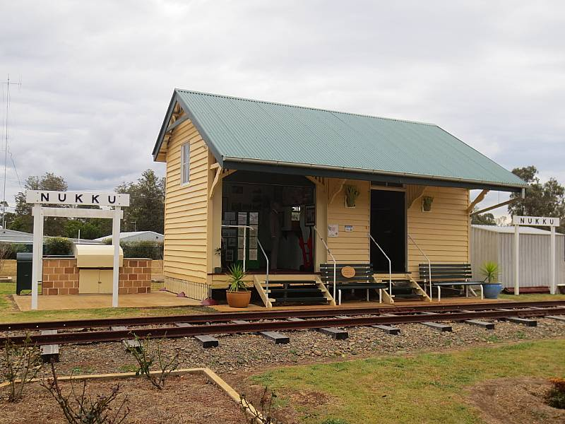 Nukku Station at Blackbutt