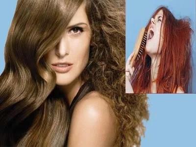 طرق علاج الشعر الجاف والتالف