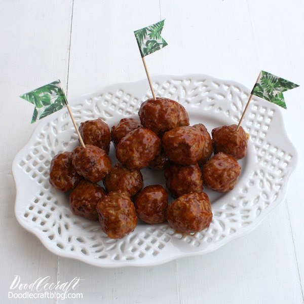 Meatballs in the Crockpot: Quick Dinner Idea!