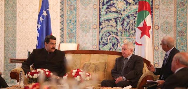 Maduro hace de nuevo una escala técnica en Argel en su camino a Estambul