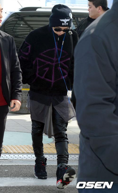 Oddness/Weirdness: Idol Style: Big Bang's Airport Fashion ...