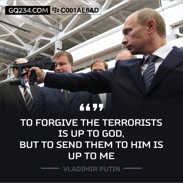 To Forgive The Terrorists Is Up God Send Them Him Me