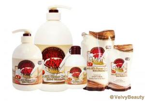 Rahasia kulit putih halus dan sehat dengan Velvy Goat's Milk Shower Cream Rosehip Seed Oil dan Peach