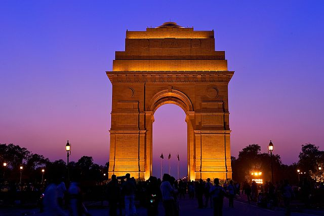 India Gate in Night