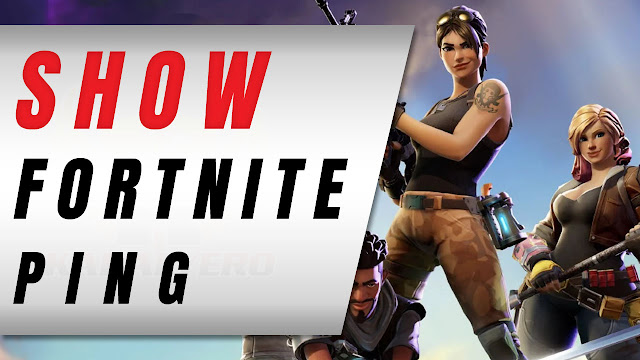 How To Show Your Fortnite Ping While Playing!