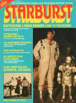 Starburst #25, Buck Rogers