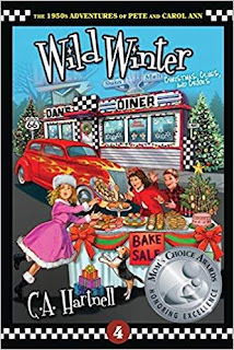 Wild Winter: Christmas, Clues, and Crooks - a Children's Historical Fiction by C.A. Hartnell