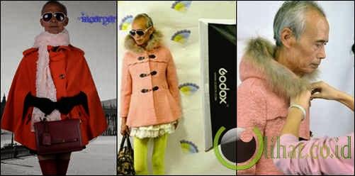 Liu Xianping, kakek yang menjadi model pakaian remaja perempuan