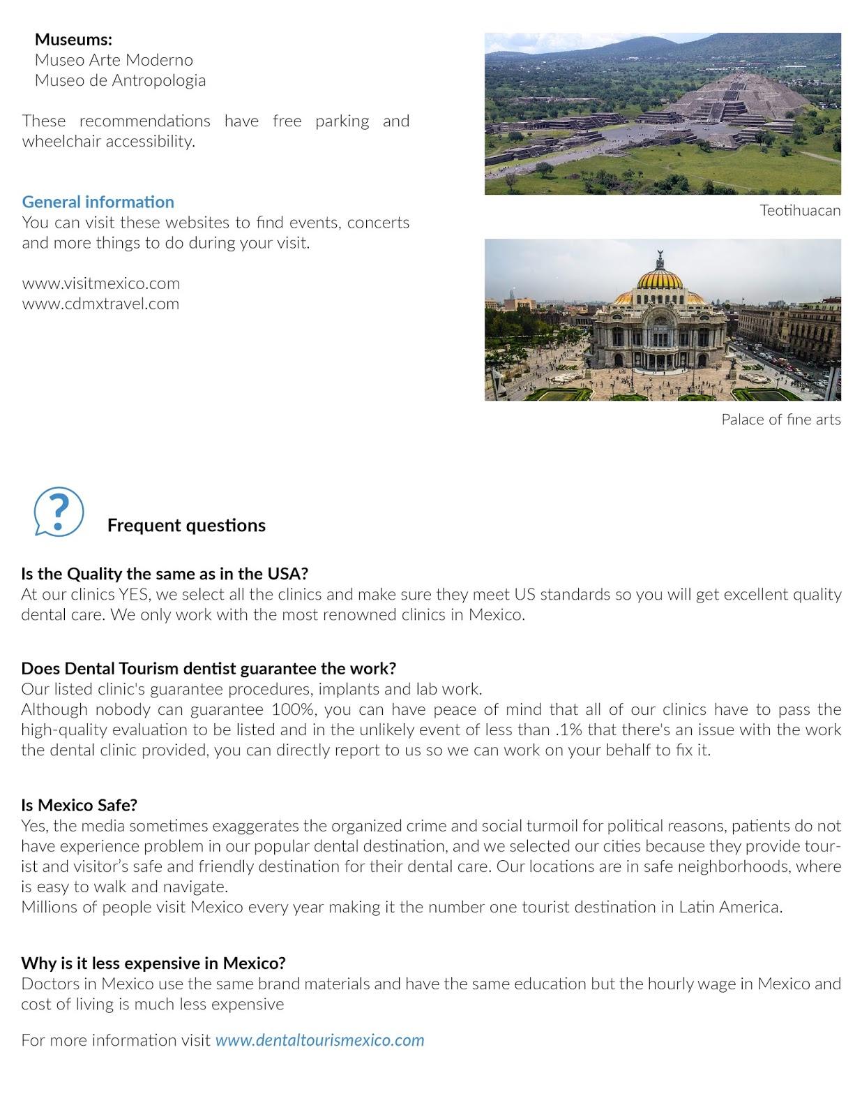 Mexico City Dental Tourism Guide