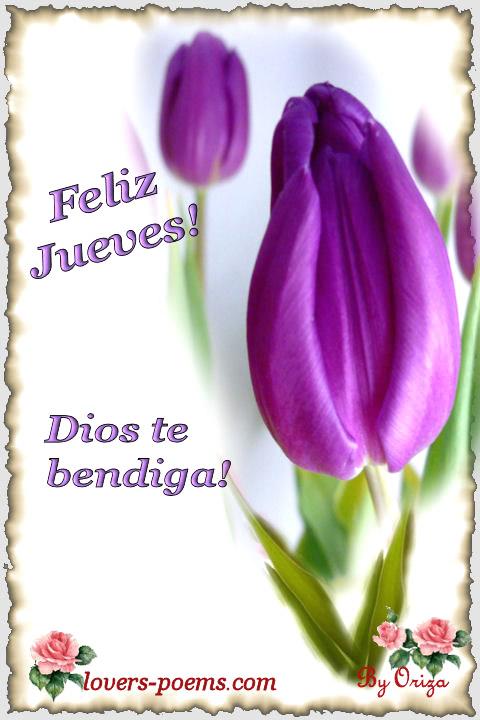 feliz jueves bendiciones