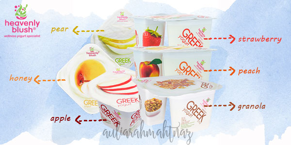 Cemilan Sehat - Heavenly Blush Greek Yogurt