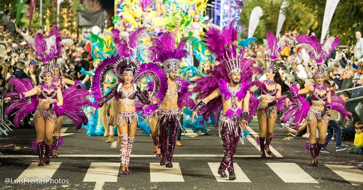 Carnaval in Madeira Island