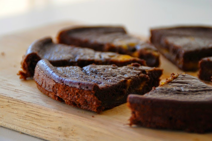 Brownie de calabaza light