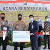 Kapolda Merdisyam Menerima Bantuan Satu Unit Mobil Ambulance Dari Pihak BRI Makassar