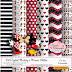 Kit Digital Mickey e Minnie Glitter - Dia dos Namorados Grátis