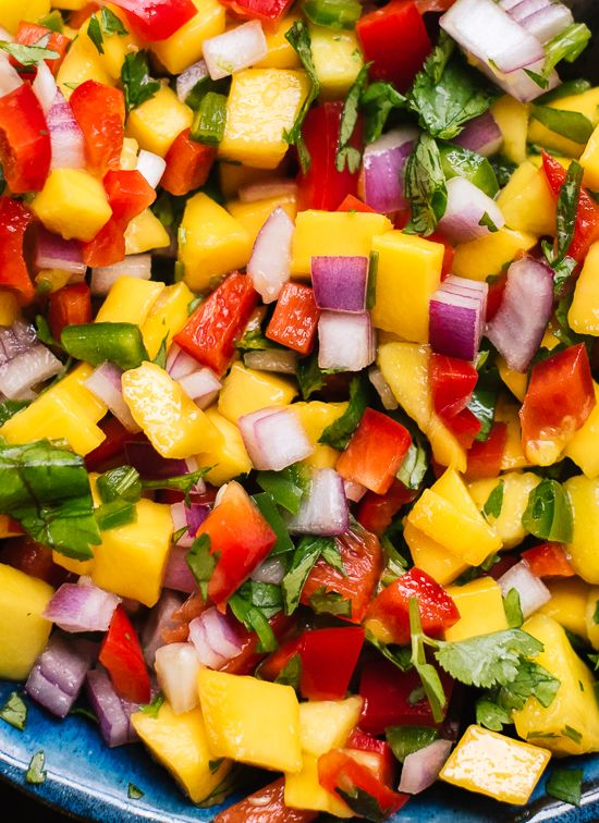 Fresh Mango Salsa #recipes #salsa #salsarecipe #food #foodporn #healthy #yummy #instafood #foodie #delicious #dinner #breakfast #dessert #lunch #vegan #cake #eatclean #homemade #diet #healthyfood #cleaneating #foodstagram