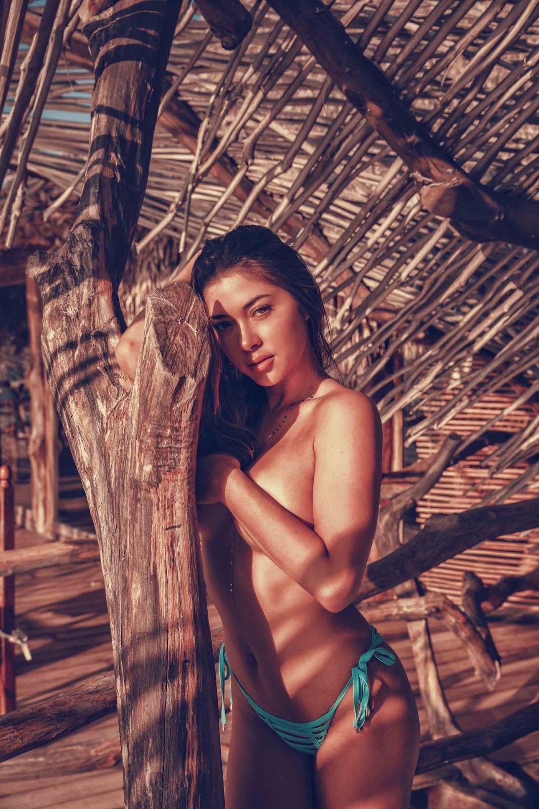 photo Celine farach photoshoot with cameron uranick 2019