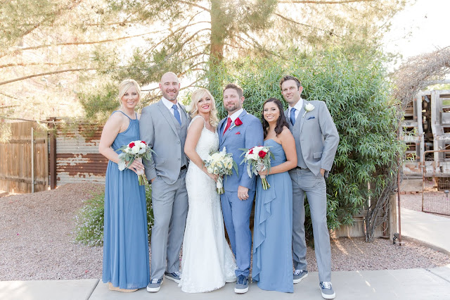 Shenandoah Mill Wedding Photography of Bridal Party