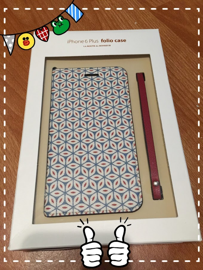3C | 韓國invite.L Foliocase Pattern for iPhone6 Plus 手帳型皮套