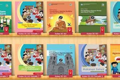 Download Buku Peket Kelas 5 SD K13 Semua Pelajaran