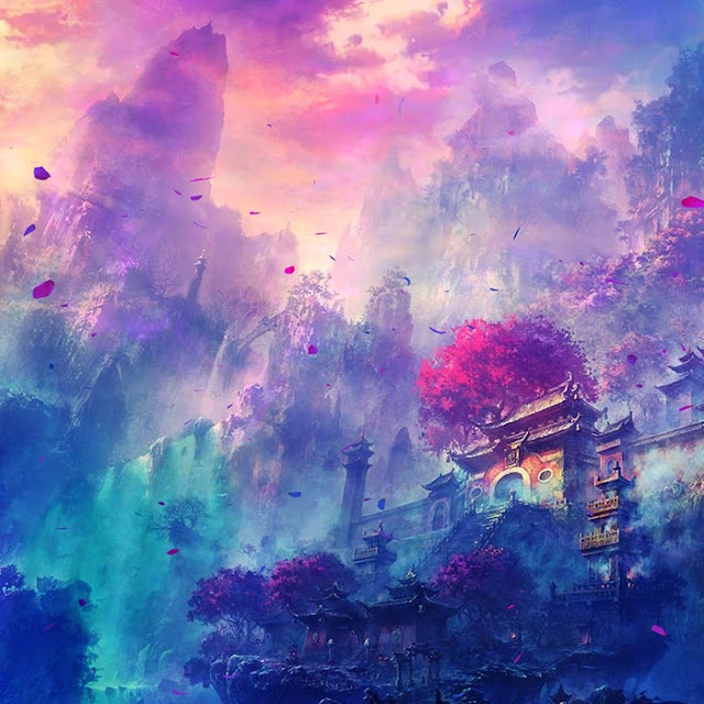 Purple Dream Wallpaper Engine