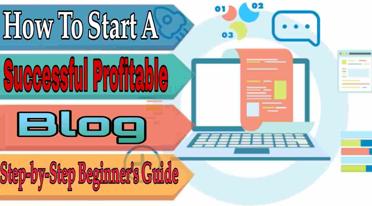 How To Start A Successful Blog - Step by Step Beginner's Guide