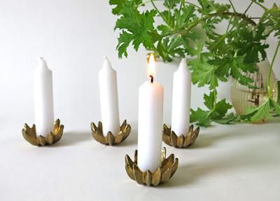 Brass Candleholders