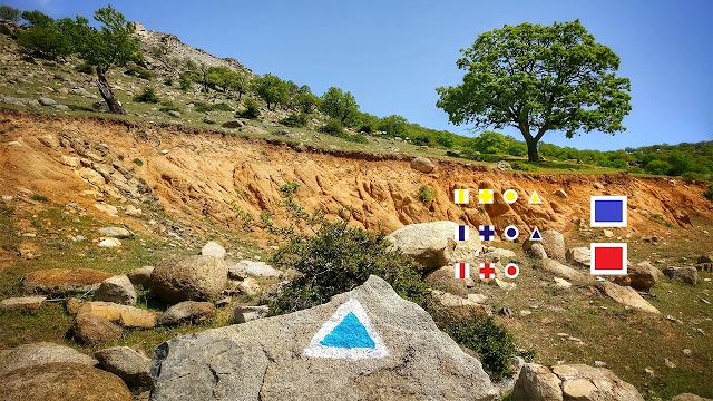 Tipuri de marcaje utilizate pentru traseele montane și semnificațiile lor
