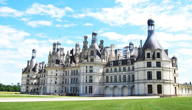 Castillo de Chambord en el Loira