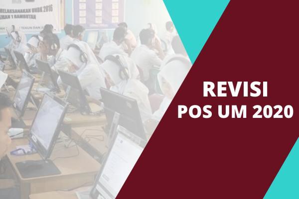 Revisi POS UM (Ujian Madrasah) Tahun Pelajaran 2019/2020