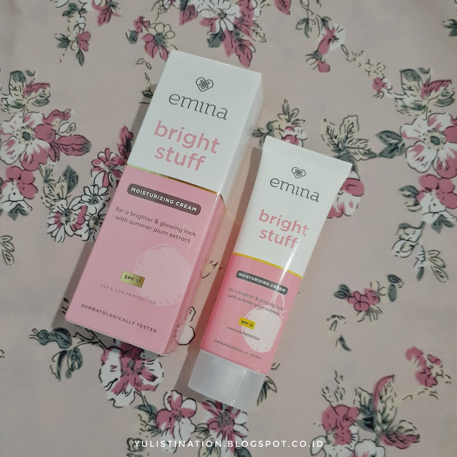 REVIEW : Emina Bright Stuff Face Wash & Moisturizer Cream ...