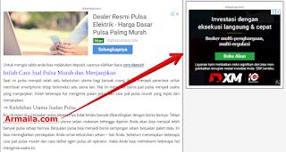 Cara Membuat Widget Sticky pada Sidebar di Blogspot Widget Melayang Blogger Versi 2