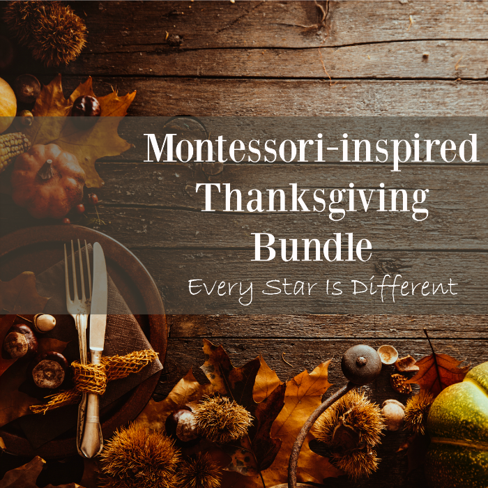 Montessori-inspired Thanksgiving Bundle