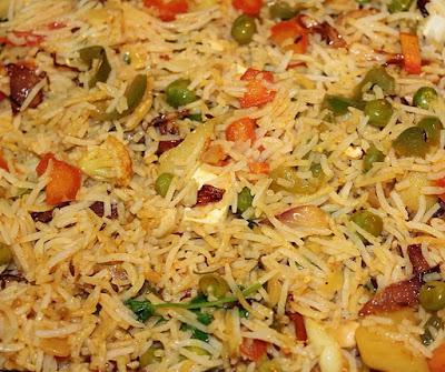 How to make veg biryani at home
