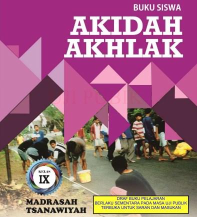 Buku Akidah Akhlak MTs Kelas 9 - KMA 183 2019